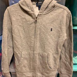 Ralph Lauren Polo Full Zip Fleece Hooded Jacket 7